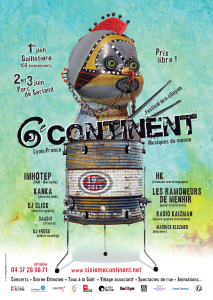 19ème édition du Festival 6E Continent