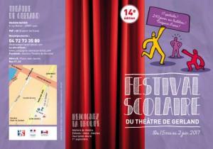 Tract Festival Scolaire du Théâtre de Gerland