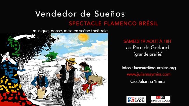 Spectacle Flamenco Brésil