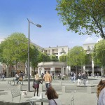 Place Pavillons depuis Challemel Lacour